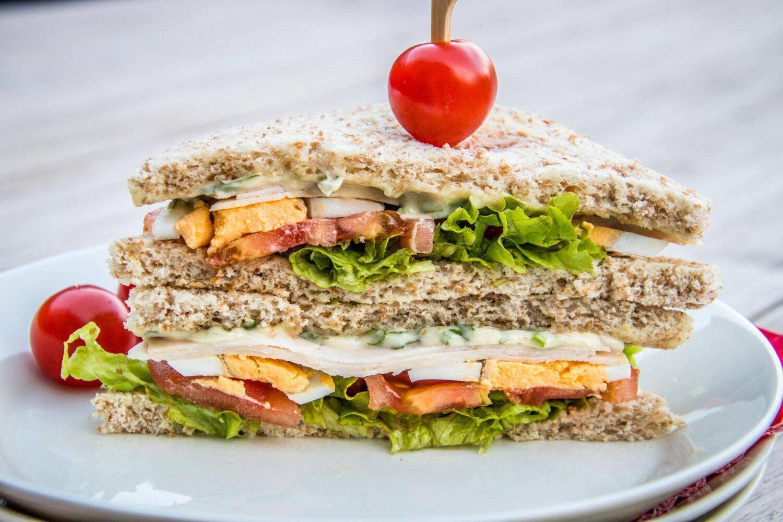 Snelle lunch: sandwich smos gezond