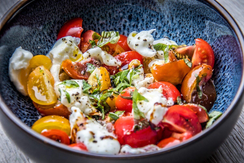 Verrukkelijke salade caprese net iets anders