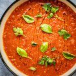 Smaakbom - soep van tomaten uit de oven