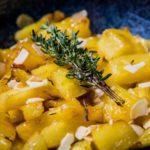 Gebakken ananas met tijm