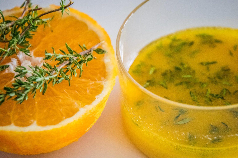 Frisse vinaigrette met citrus