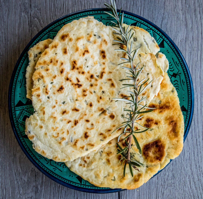 Mediterraans flatbread