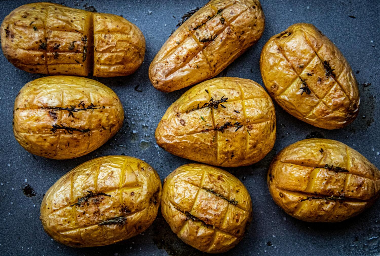 Geroosterde aardappelen met tijm