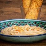 Hummus van rode linzen