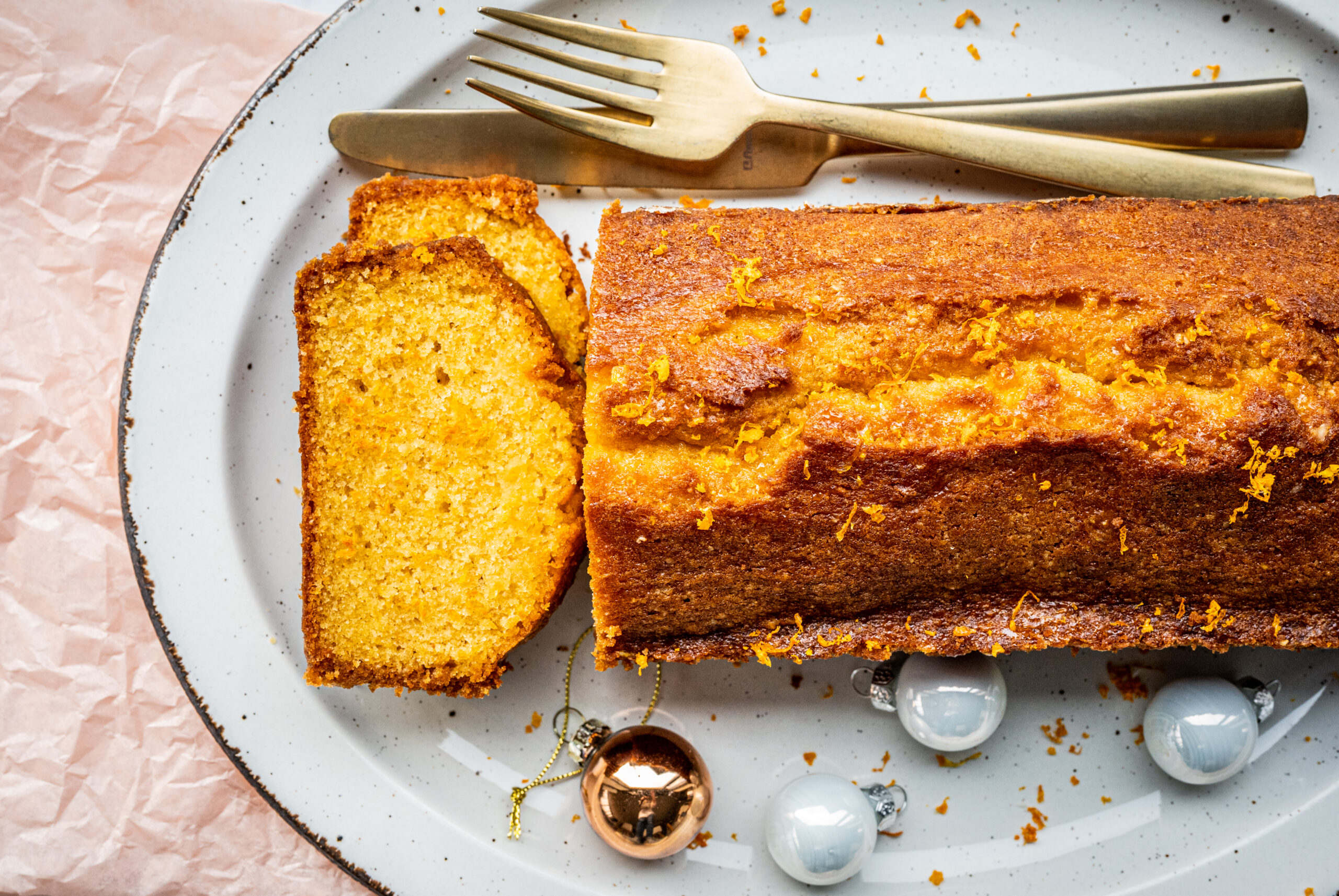 Sticky clementinecake